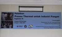 thermal proses angk. 9